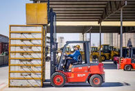 3 Ton Diesel Forklift Truck With Japanese Isuzu Engine 145mm Free Lifting Height