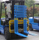 Class 2 Forklift Truck Attachments Flexible Single / Double Pallet Handler
